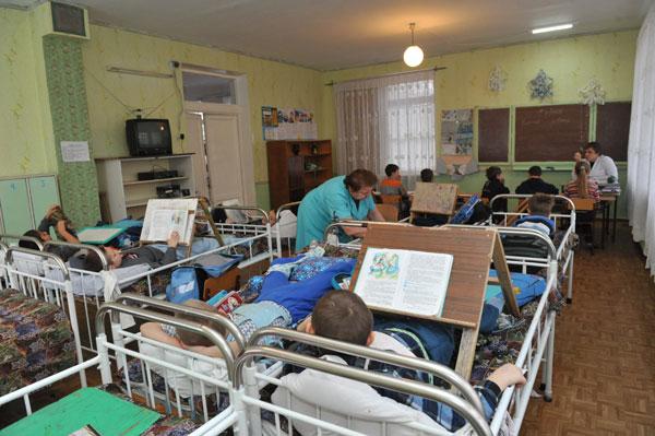 Запорожский детский противотуберкулезный санаторий на Хортице