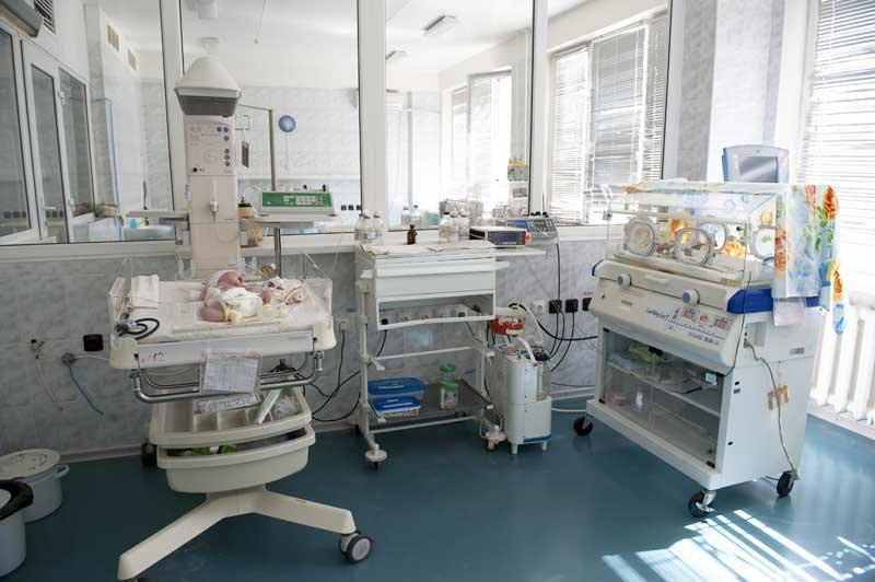 Отделение анестезиологии и интенсивной терапии новорожденных 5-й детской городской больницы Запорожья.
