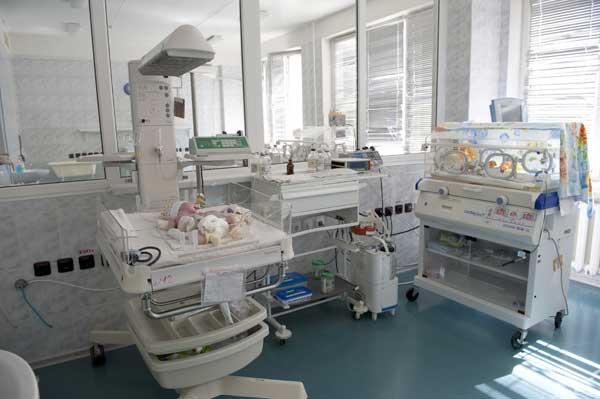 Отделение реанимации новорожденных пятой детской больницы Запорожья