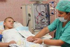 Отделение гемодиализа пятой детской многопрофильной больницы Запорожья получило два новых аппарата исксственная почка