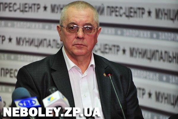 Главный врач Запорожского областного противотуберкулезного диспансера Александр Ахтырский