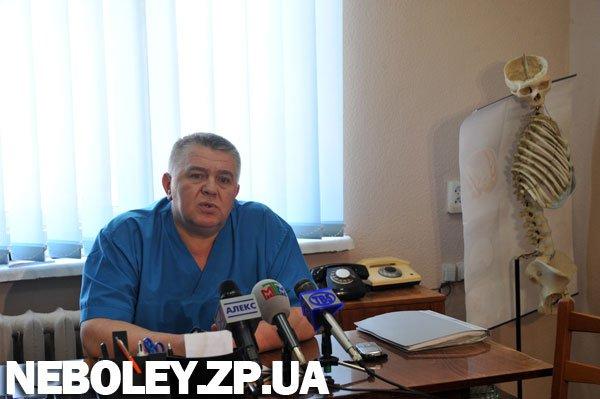 Сергей Тяглый уволен с поста главврача Запорожской областной клинической больницы