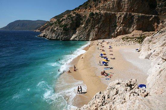 Необычные пляжи Турции