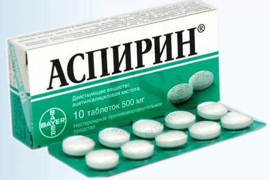Аспирин уменьшает риск онкозаболеваний