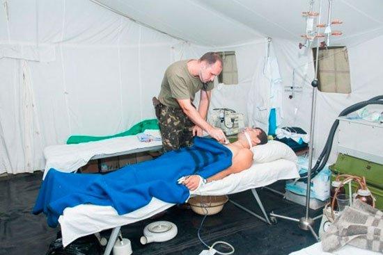В Запорожской областной больнице объявлен сбор крови для полевого госпиталя