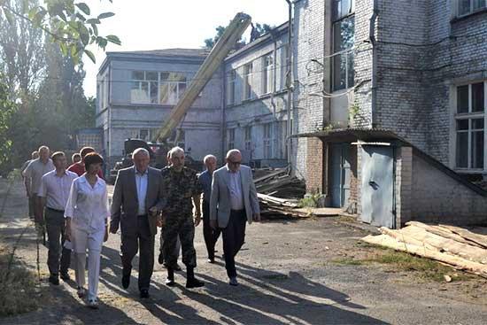 В Запорожье появится военный госпиталь