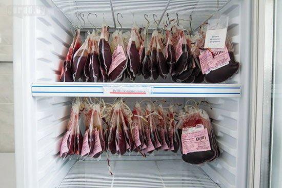 Запорожская областная больница получит новое оборудование для хранения крови