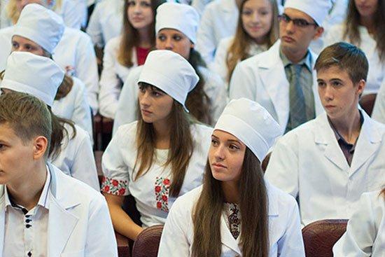 Студенты-медики из Луганска и Донецка временно допущены к занятиям в Запорожском медуниверситете